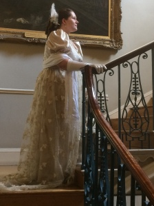My most recent ball at the Guild Hall in Bath, in my new ball gown!!